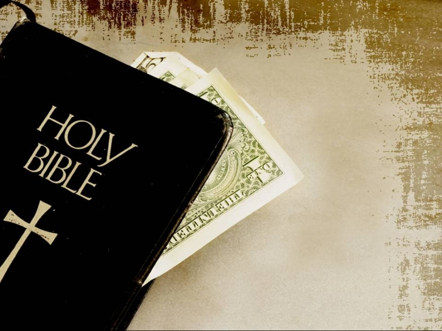 Bible and Dollar